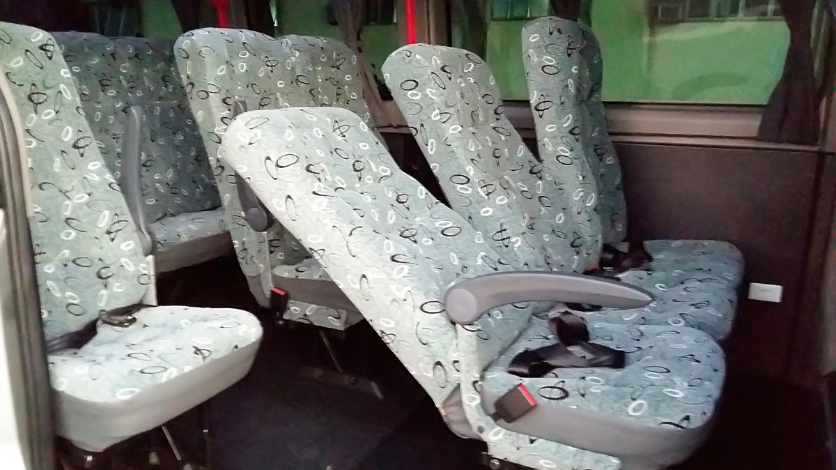 Interior da van 3